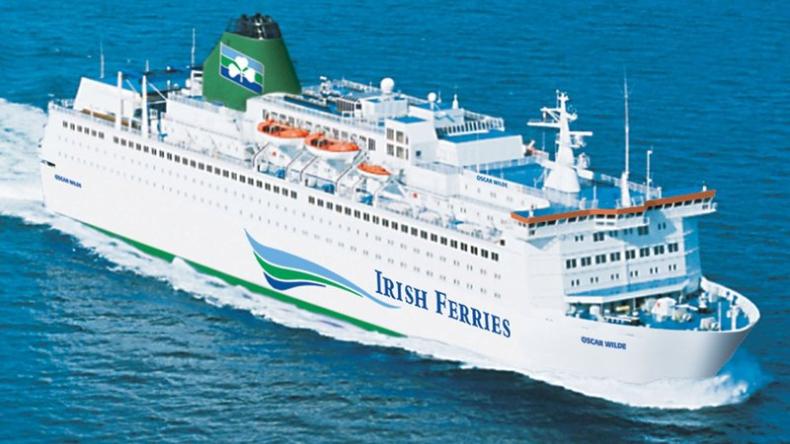 Nielegalni imigranci ukrywali się w chłodni na promie Irish Ferries - GospodarkaMorska.pl
