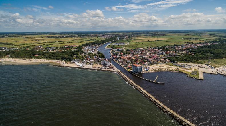 Darłowo – jedyny port środkowego wybrzeża (foto, wideo) - GospodarkaMorska.pl