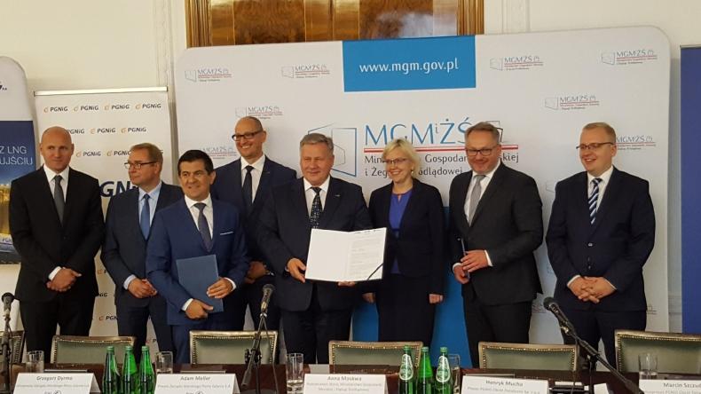 PGNiG i Zarząd Morskiego Portu Gdynia podpisały porozumienie ws. wykorzystania LNG - GospodarkaMorska.pl