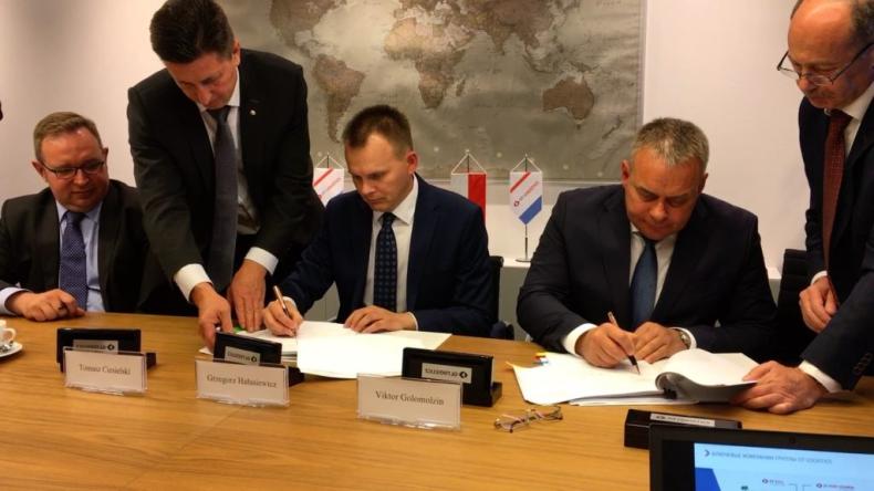 Spółka z Grupy Kapitałowej OT Logistics ma umowę o współpracy przy organizacji przewozów z Kolejami Rosyjskimi RŻD - GospodarkaMorska.pl