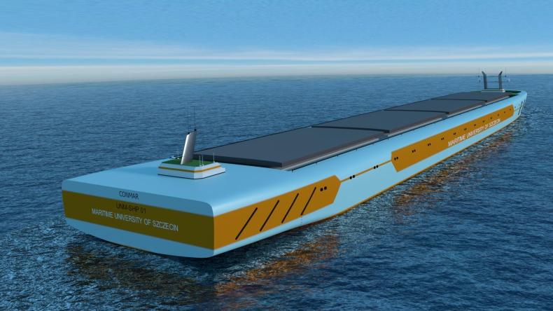 Bezzałogowy statek coraz bliżej – pierwsze modele powstają już w AM - GospodarkaMorska.pl
