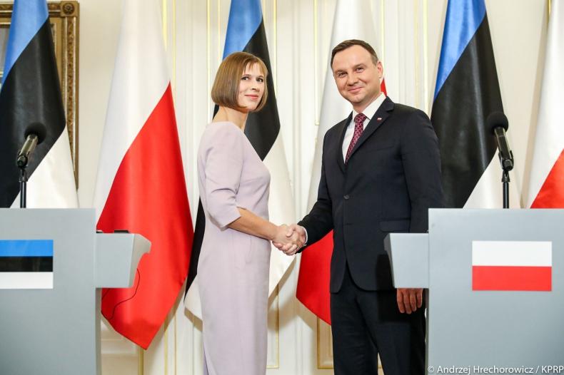 Prezydent Duda rozpoczął wizytę w Estonii - GospodarkaMorska.pl