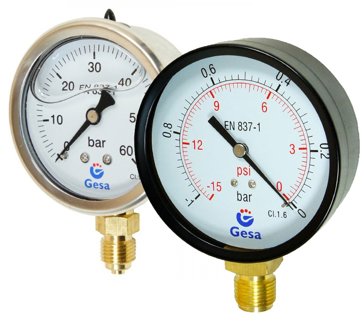 Gesa® - manometry, termometry, pirometry i wakuometry - GospodarkaMorska.pl