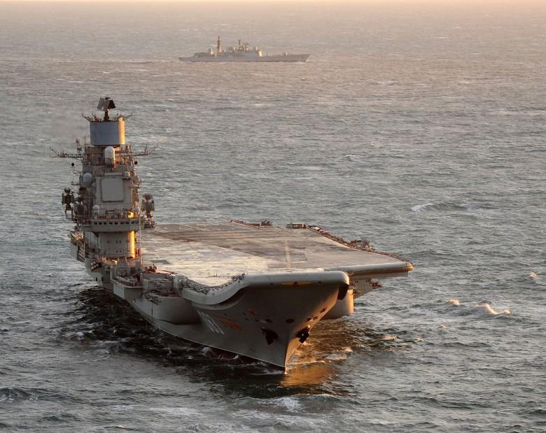 Rosyjskie ministerstwo: uszkodzenia Admirała Kuzniecowa nie są znaczne - GospodarkaMorska.pl