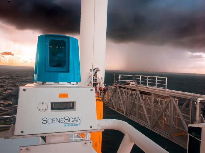 Wartsila zaprezentowała SceneScan, pierwszy beztargetowy czujnik laserowy dla morskich farm wiatrowych - GospodarkaMorska.pl
