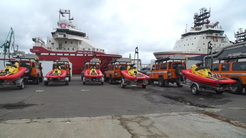 Na Bałtyku będzie bezpieczniej. SAR otrzymał 7 nowoczesnych skuterów ratownictwa morskiego (foto, wideo) - GospodarkaMorska.pl