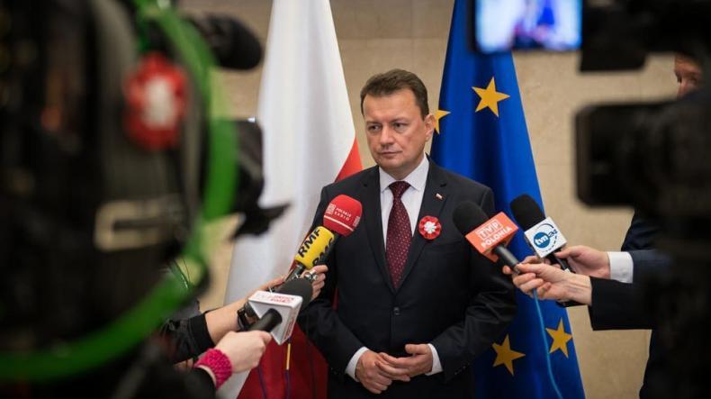 Błaszczak: PESCO nie jest zalążkiem wspólnej europejskiej armii - GospodarkaMorska.pl