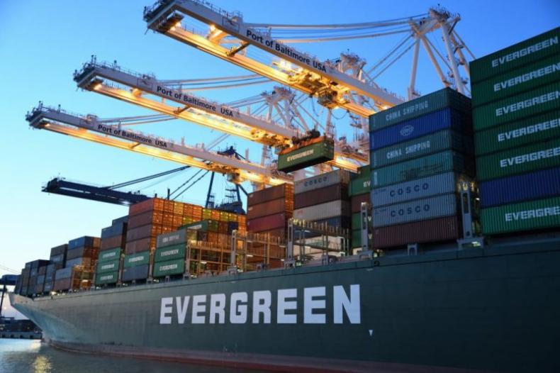 Evergreen zamówił cztery feedery w chińskim zakładzie - GospodarkaMorska.pl