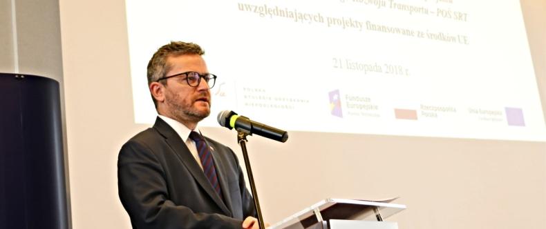 Minister Witkowski o żegludze śródlądowej i portach morskich na Konferencji nt. Strategii Zrównoważonego Rozwoju Transportu - GospodarkaMorska.pl