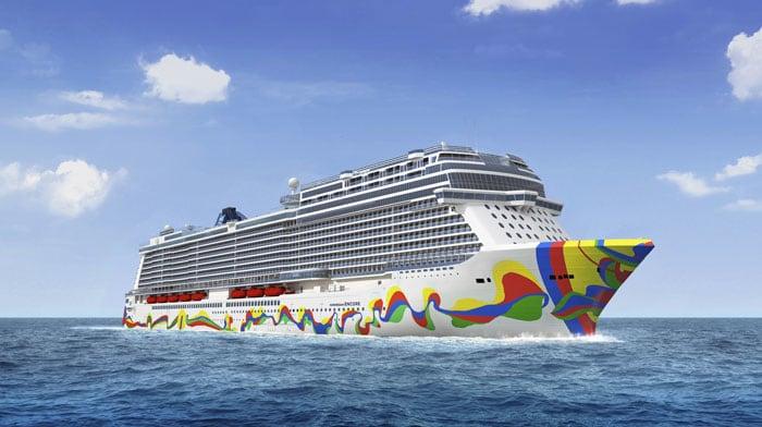 Położenie stępki pod nowy statek Norwegian Cruise Line - GospodarkaMorska.pl