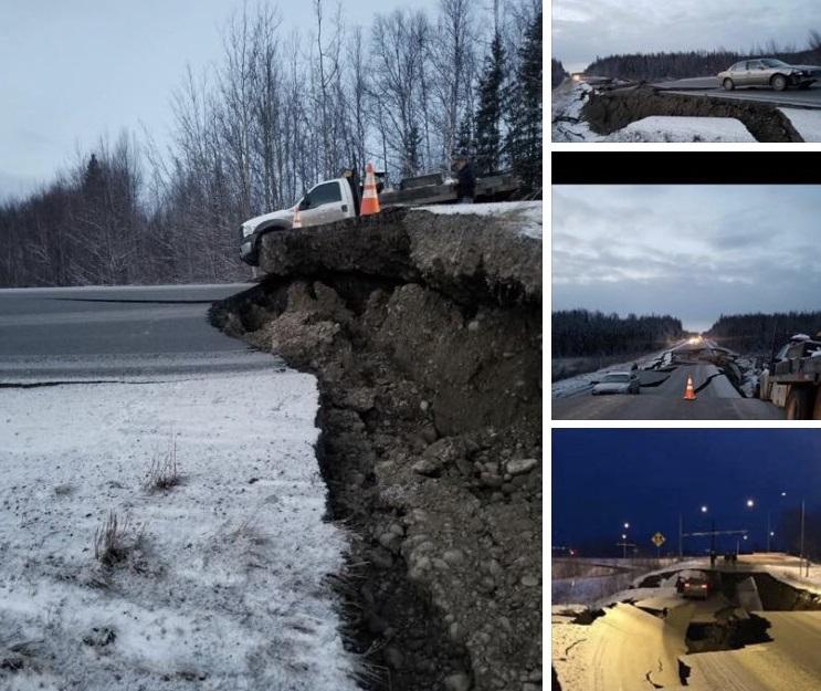 USA: Silne trzęsienie ziemi na Alasce, ostrzeżenie przed tsunami (wideo) - GospodarkaMorska.pl