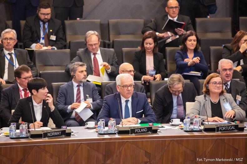 Czaputowicz spodziewa się dyskusji UE o sankcjach na Rosję - GospodarkaMorska.pl