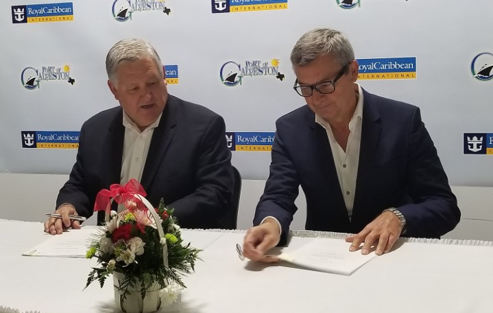 Royal Caribbean wybuduje nowy terminal wycieczkowy w Porcie Galveston - GospodarkaMorska.pl