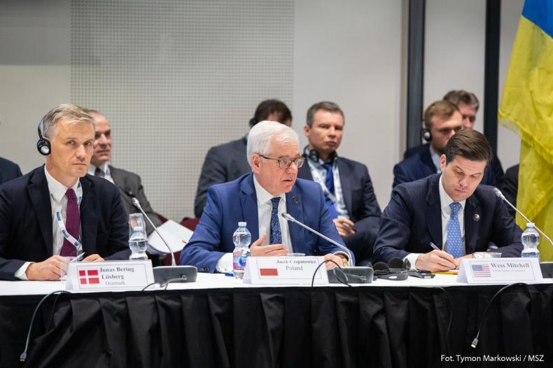 OBWE/Czaputowicz: Pogłębia się spór między Rosją a państwami Zachodu - GospodarkaMorska.pl