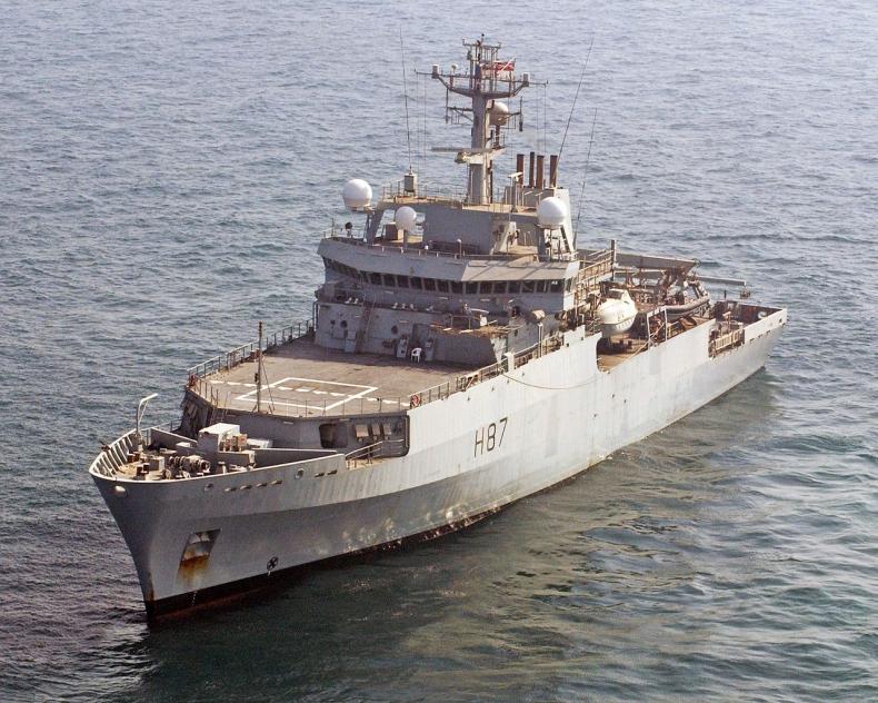 Ukraina/ Portal resortu obrony: brytyjski okręt wywiadowczy na Morzu Czarnym - GospodarkaMorska.pl