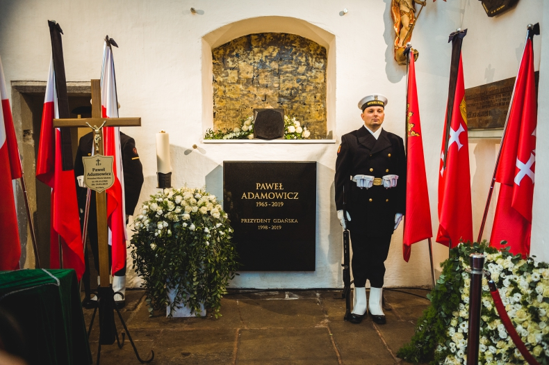 W Bazylice Mariackiej pochowano prezydenta Gdańska Pawła Adamowicza - GospodarkaMorska.pl