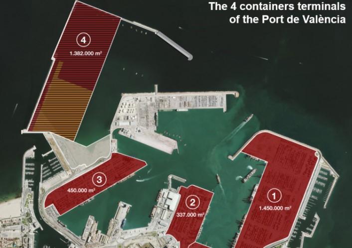 Budowa dużego terminalu kontenerowego w Walencji ruszy jeszcze w tym roku - GospodarkaMorska.pl