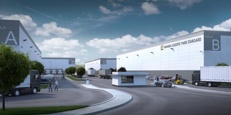 Budowa pierwszej hali Waimea Logistic Park Stargard realizowana zgodnie z planem - GospodarkaMorska.pl