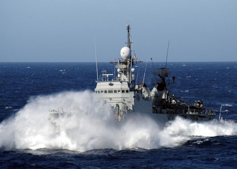 Hiszpańsko-brytyjski incydent na wodach koło Gibraltaru - GospodarkaMorska.pl