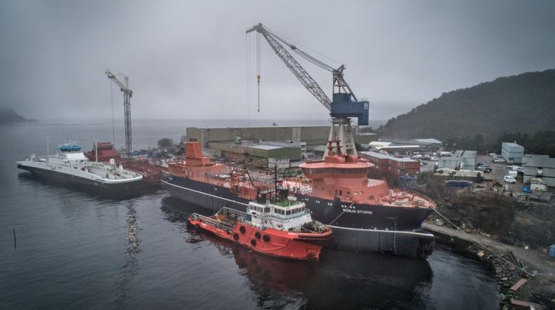 Największy na świecie statek do przewozu żywych ryb już w norweskiej stoczni - GospodarkaMorska.pl