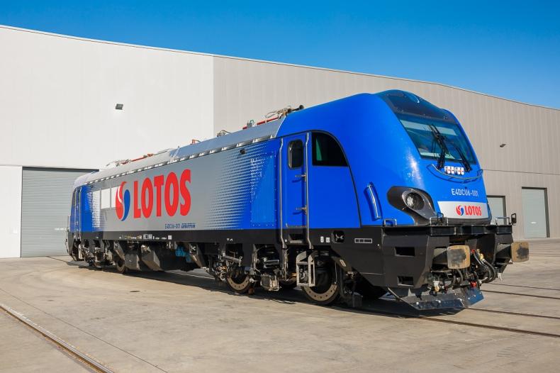 Tabor LOTOS Kolej wzbogaci się o pięć nowoczesnych lokomotyw firmy NEWAG - GospodarkaMorska.pl
