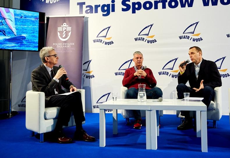 Tomasz Chamera, Dominik Życki i Waldemar Heflich rozmawiali o przyszłym sezonie, igrzyskach oraz Trzebieży - GospodarkaMorska.pl