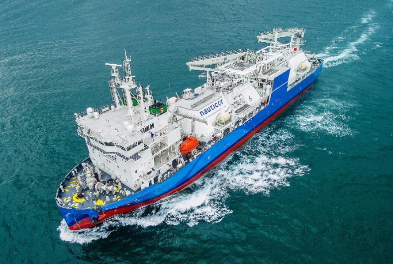 Największa bunkierka LNG na świecie już po pierwszym bunkrowaniu - GospodarkaMorska.pl