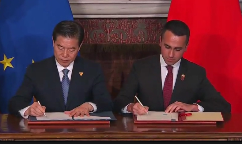 Włochy przystąpiły do chińskiej inicjatywy Pasa i Szlaku - GospodarkaMorska.pl