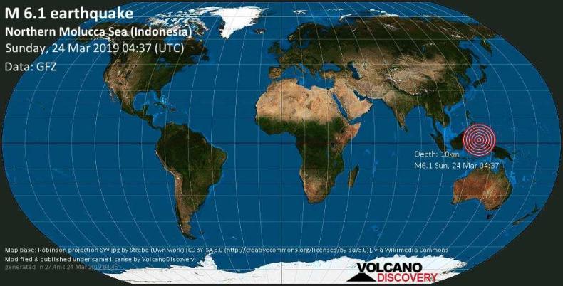 Indonezja: Trzęsienie ziemi o magnitudzie 6,3 st. w archipelagu Molukków - GospodarkaMorska.pl
