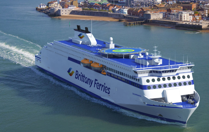 Francuskie Brittany Ferries wprowadzi nowy prom w 2023 roku - GospodarkaMorska.pl
