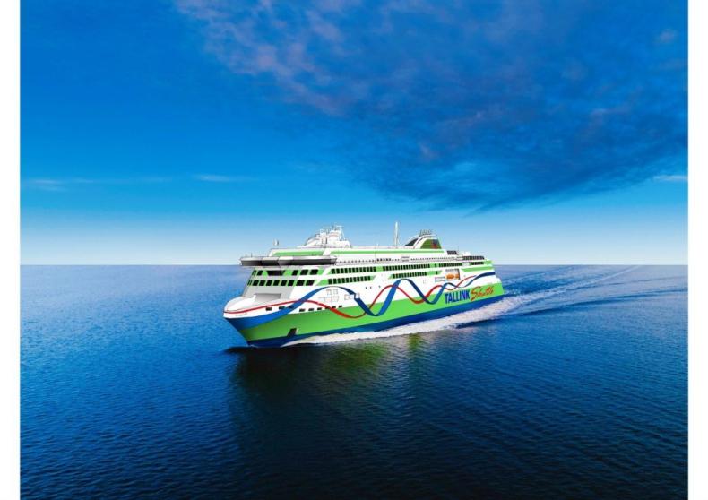 Tallink zamówił nowy prom napędzany LNG - GospodarkaMorska.pl