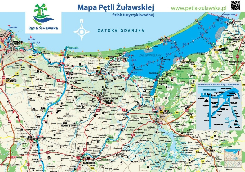 Wydawnictwa żeglarskie Spółki Pętla Żuławska - GospodarkaMorska.pl