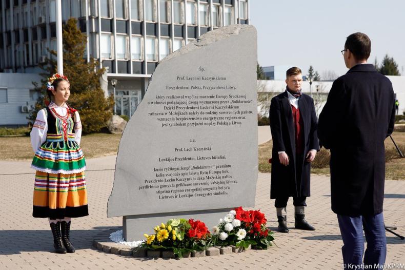 Morawiecki: Możejki to żywy pomnik Lecha Kaczyńskiego - GospodarkaMorska.pl