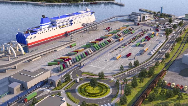 Tak będzie wyglądał nowy terminal promowy w Gdyni (foto, wideo) - GospodarkaMorska.pl