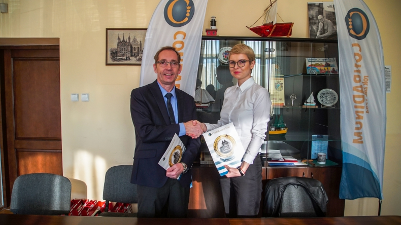 Stocznia CRIST podpisała porozumienie z SOiO CONRADINUM (foto) - GospodarkaMorska.pl