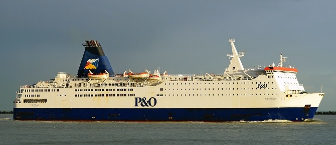 Brexit: Nowe procedury P&O Ferries - GospodarkaMorska.pl