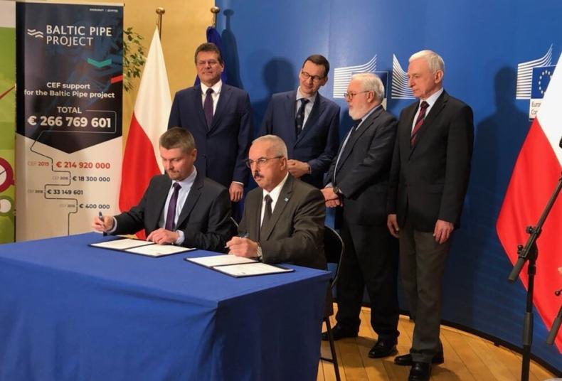 Morawiecki o Baltic Pipe: Z partnerami rozumiemy potrzebę dywersyfikacji energetycznej - GospodarkaMorska.pl