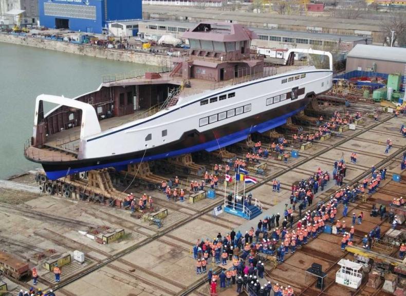 W Rumunii zwodowano dwie jednostki dla BC Ferries - GospodarkaMorska.pl