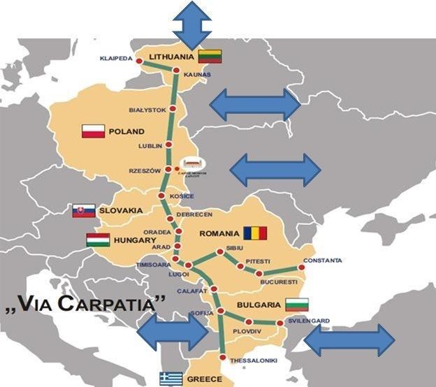 Via Carpatia po raz pierwszy na liście priorytetowych inwestycji UE - GospodarkaMorska.pl