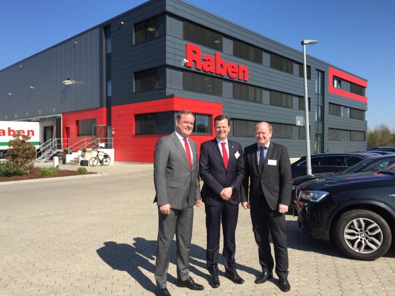 Grupa Raben otworzyła nowy oddział w niemieckim Schuettorfie - GospodarkaMorska.pl
