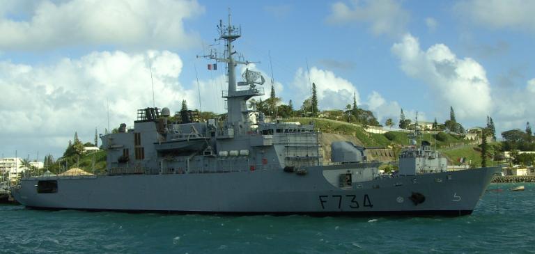 Chiny: Francuski okręt wojenny przepłynął przez Cieśninę Tajwańską - GospodarkaMorska.pl