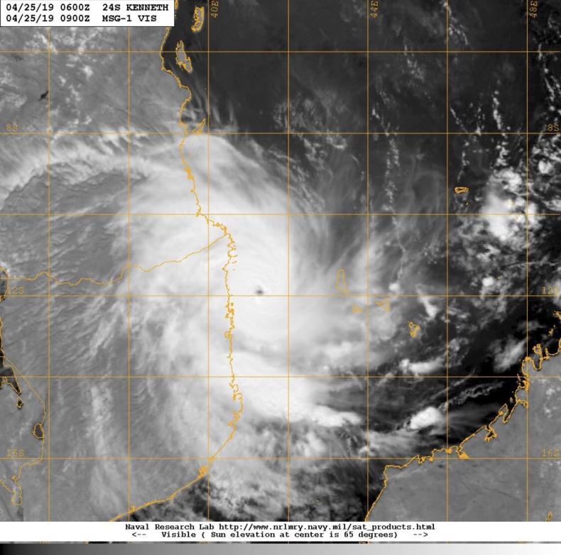 Mozambik: Cyklon Kenneth zabił co najmniej trzy osoby - GospodarkaMorska.pl