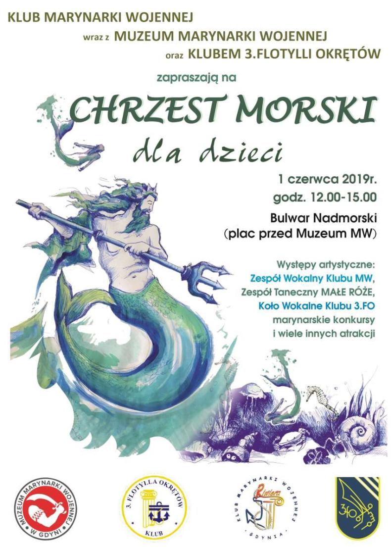 Chrzest Morski dla dzieci - GospodarkaMorska.pl