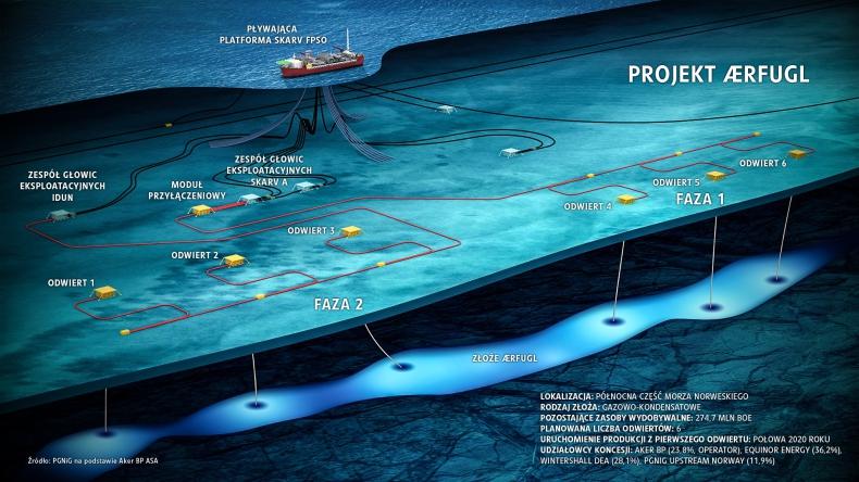 PGNiG bliżej rozpoczęcia produkcji gazu z norweskiego złoża Ærfugl - GospodarkaMorska.pl