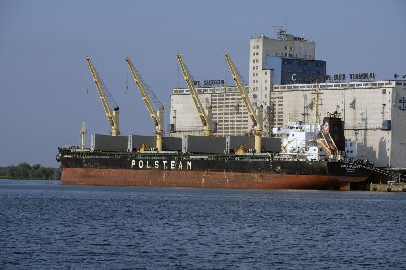 Jeden z najnowszych statków PŻM zacumował w Szczecinie - GospodarkaMorska.pl