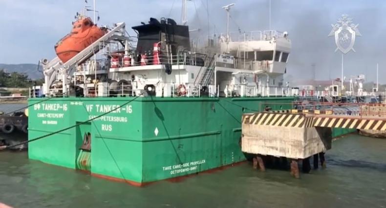 Rosja: Trzech marynarzy zginęło w wybuchu na tankowcu - GospodarkaMorska.pl