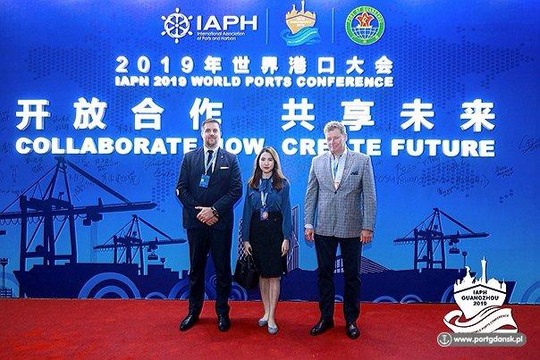 Port Gdańsk na konferencji International Association of Ports and Harbours - GospodarkaMorska.pl