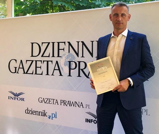 DSV podwójnie wyróżnione w Rankingu firm TSL 2019 - GospodarkaMorska.pl