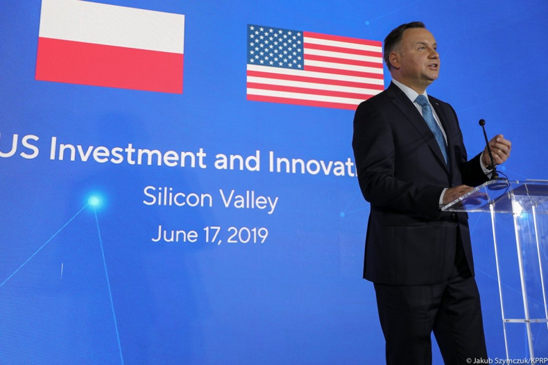 USA/Duda: Polska ma ambicje być hubem biznesowym, energetycznym Europy Centralnej - GospodarkaMorska.pl