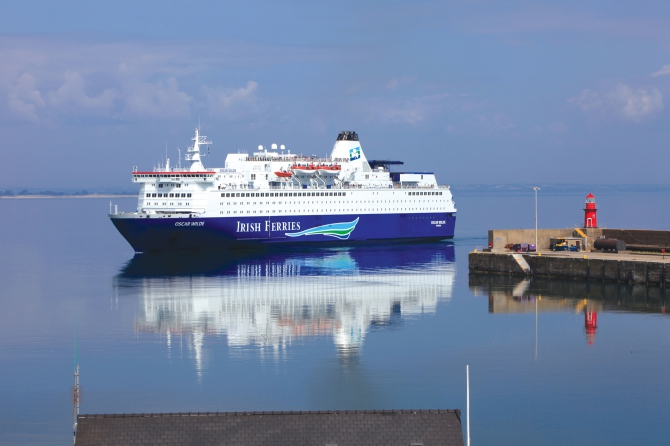 Nowa trasa promu Irish Ferries - GospodarkaMorska.pl